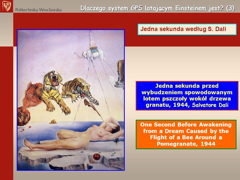 Dlaczego system GPS latającym Einsteinem jest? (3) One Second Before Awakening from a Dream Caused by the Flight of a Bee Around a Pomegranate, 1944 J