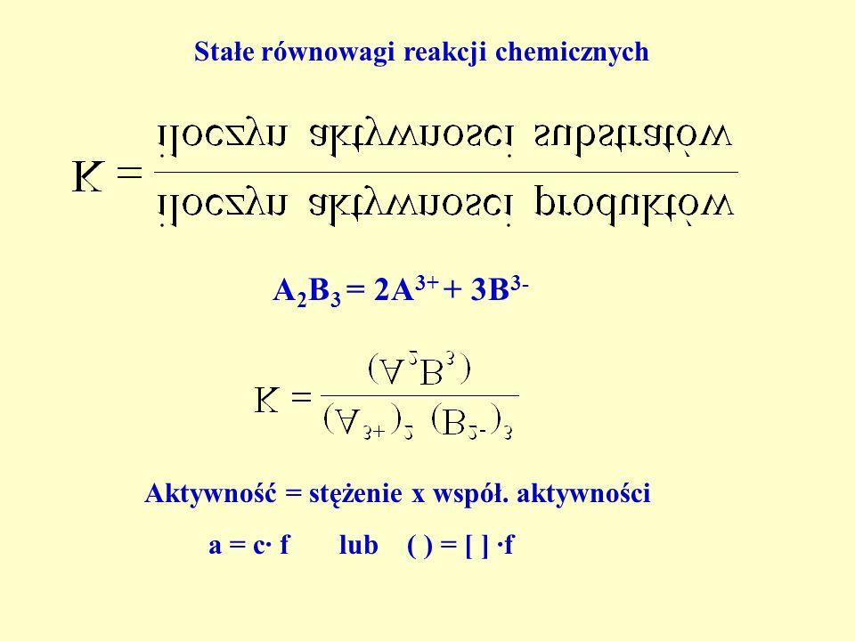 Dysocjacja elektrolityczna cząsteczek wody w wodzie 2H 2 O = H 3 O + + OH - H 2 O = H + + OH - (zapis wierny) (zapis zwyczajowy)jon oksoniowy jon hydr