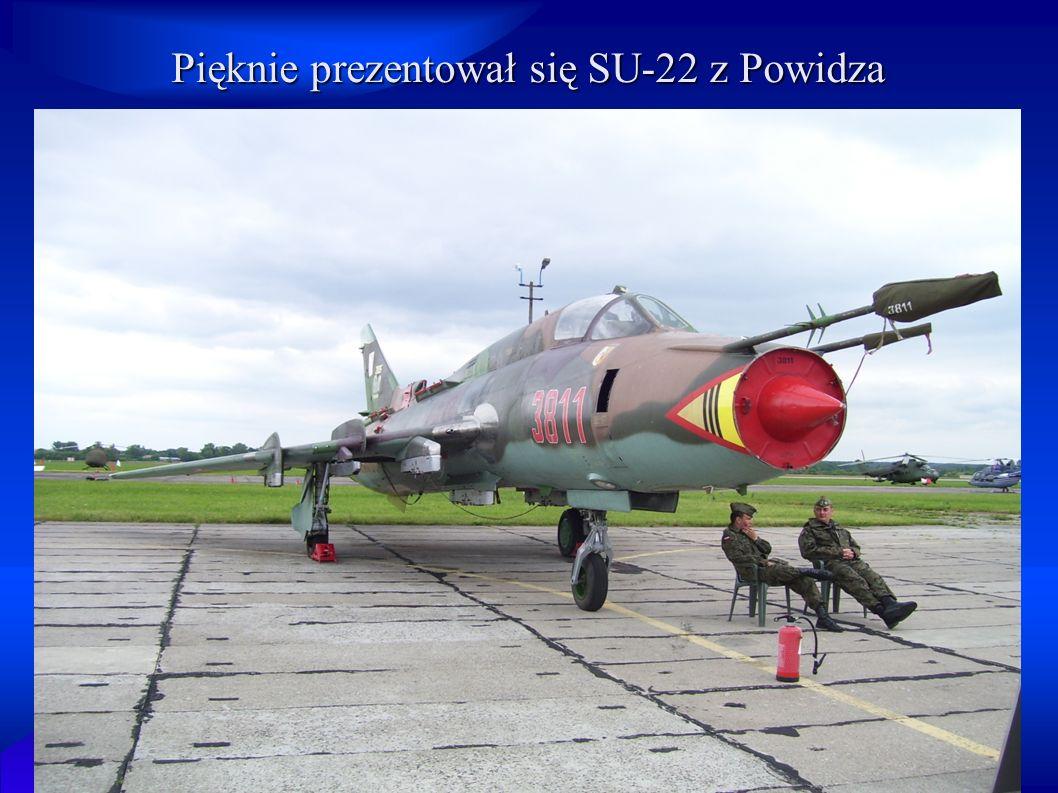 Wśród myśliwców mogliśmy zobaczyć także samoloty szkolne i szkolno – bojowe, takie jak np.