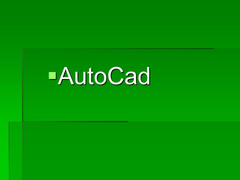 AutoCad AutoCad