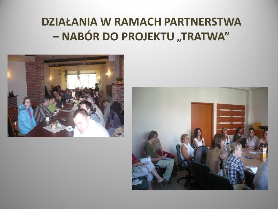 DZIAŁANIA W RAMACH PARTNERSTWA – NABÓR DO PROJEKTU TRATWA