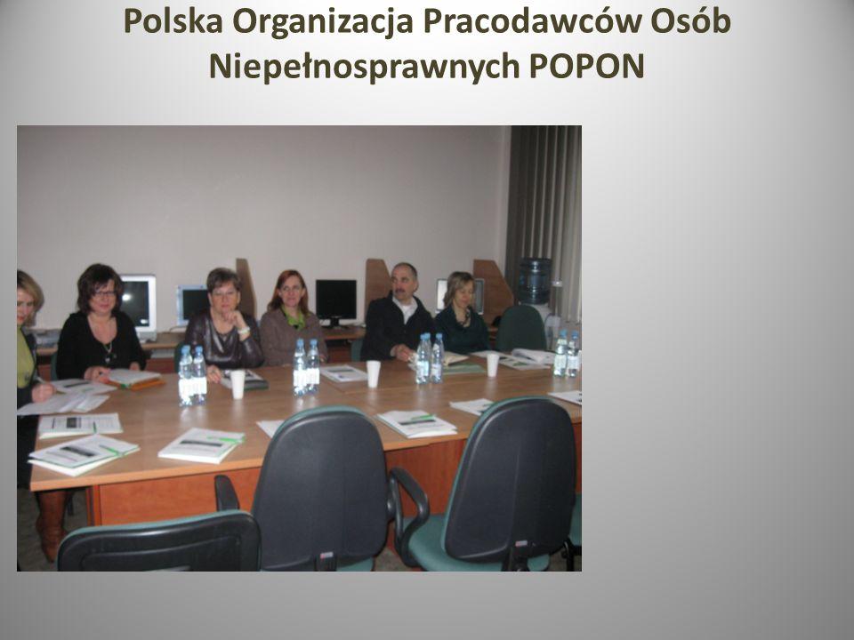 Polska Organizacja Pracodawców Osób Niepełnosprawnych POPON