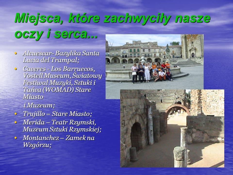 Miejsca, które zachwyciły nasze oczy i serca... Alcuescar- Bazylika Santa Lucia del Trampal; Alcuescar- Bazylika Santa Lucia del Trampal; Caceres - Lo