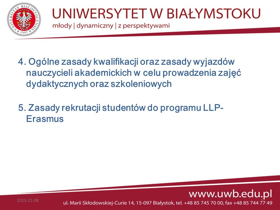 Umiędzynarodowienie uczelni Umiędzynarodowienie uczelni I nternationalisation is the process of integrating an international/intercultural dimension into the teaching, research and service of an institution Jane Knight, Hugo de Wit 2013-11-0836