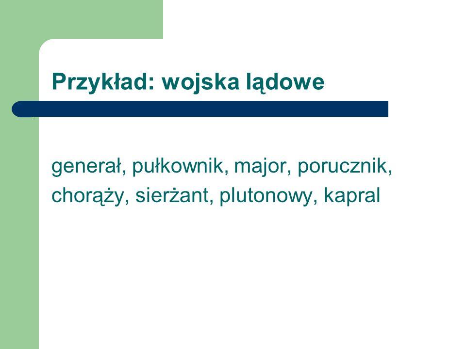 Przykład: PJWSTK - struktura Rektor Prorektor ds.ogólnych Prorektor ds.