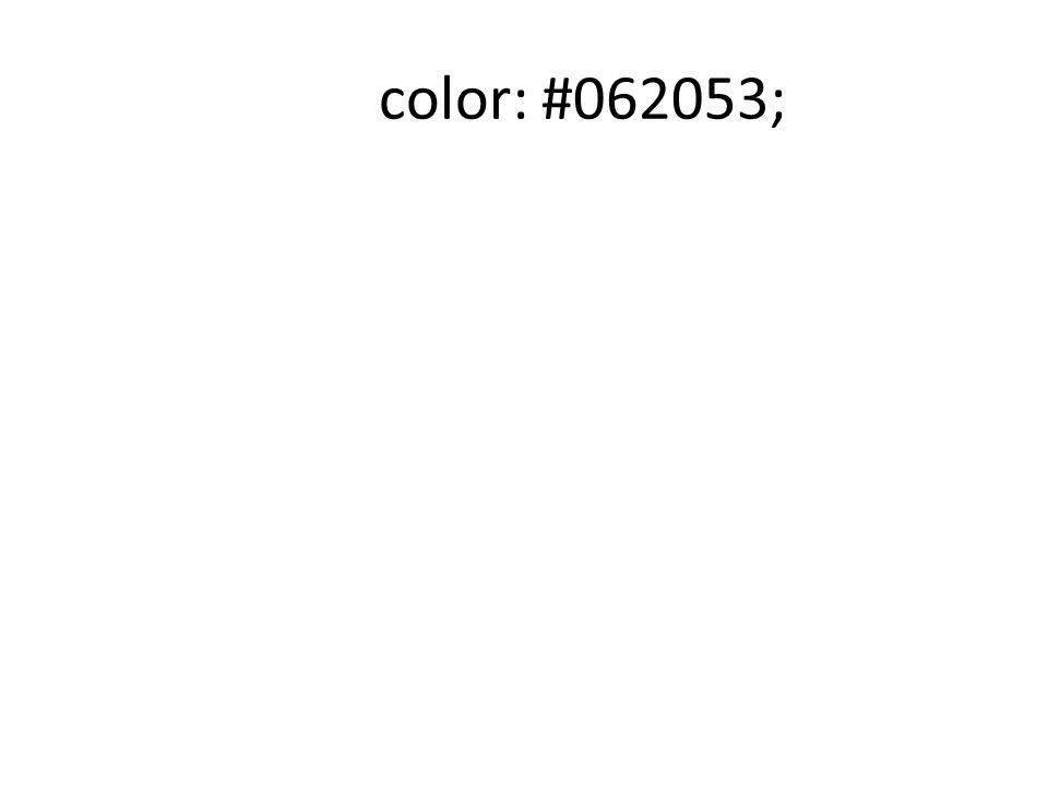color: #062053;
