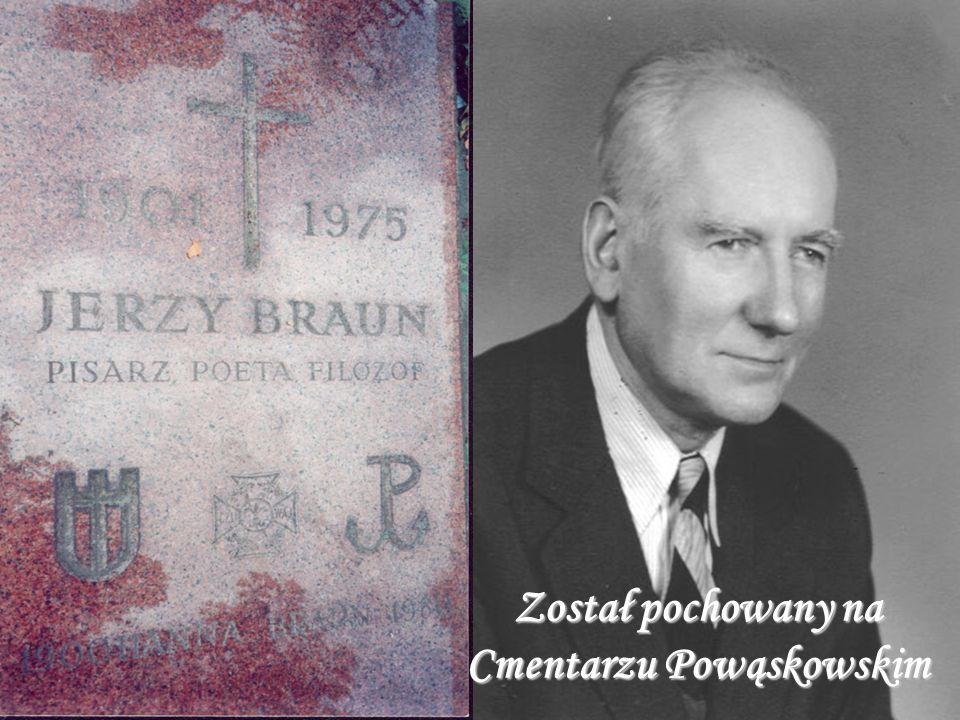Został pochowany na Cmentarzu Powąskowskim