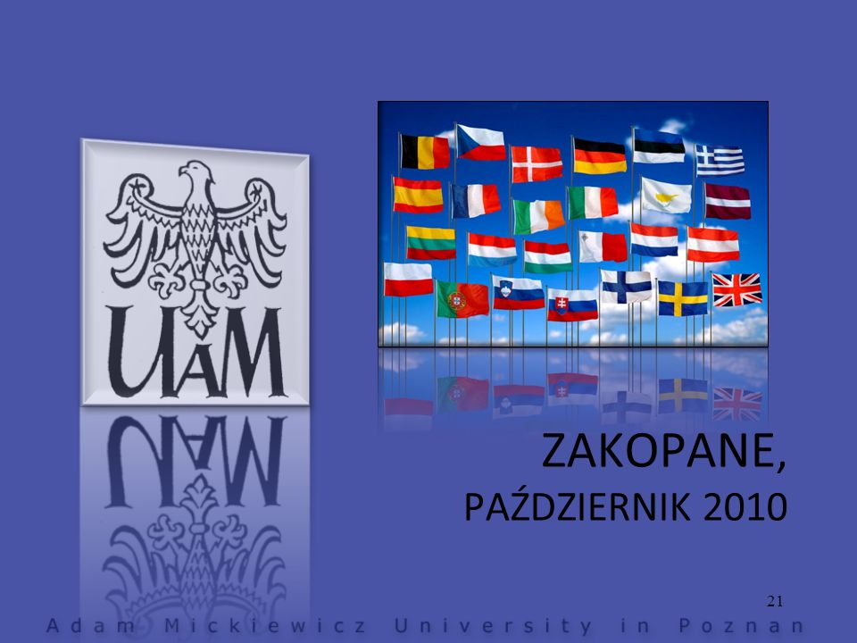 ZAKOPANE, PAŹDZIERNIK 2010 21