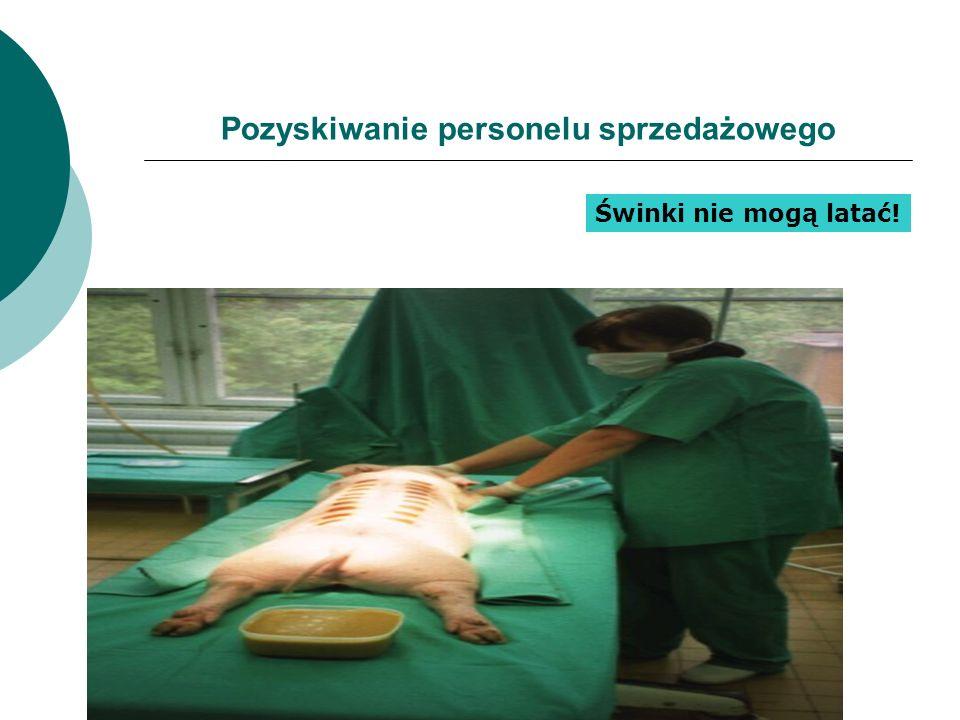 Pozyskiwanie personelu sprzedażowego PIGS DO NOT FLY Świnki nie mogą latać!