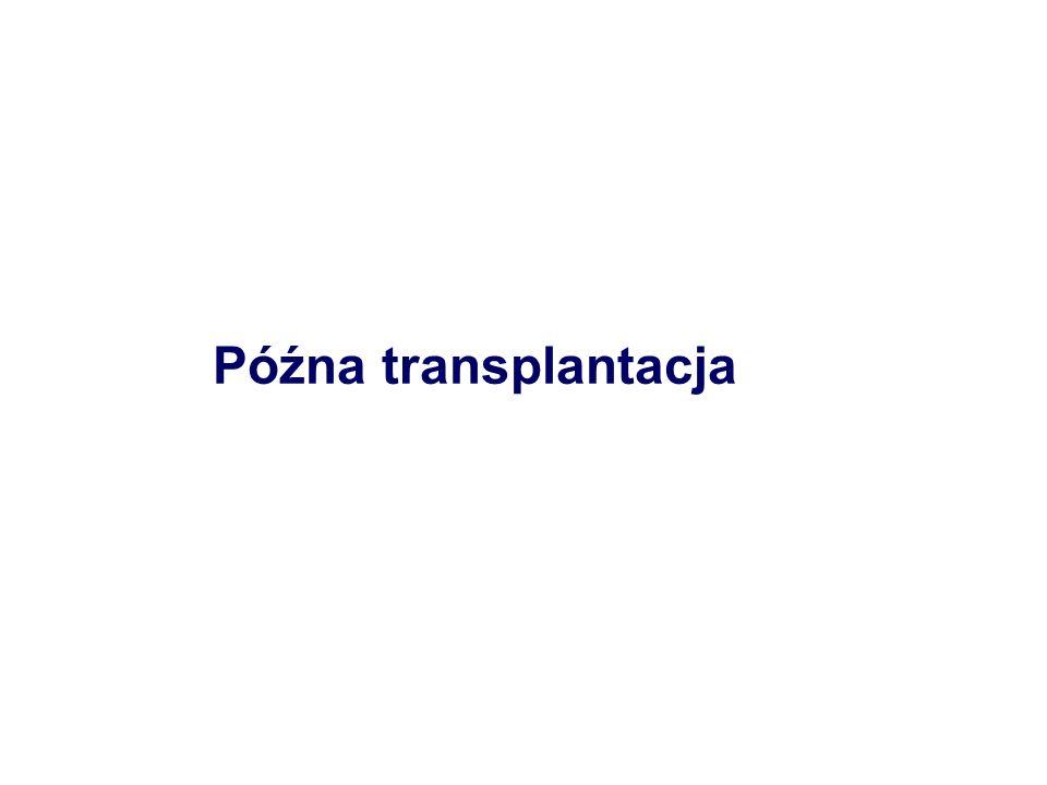 Późna transplantacja