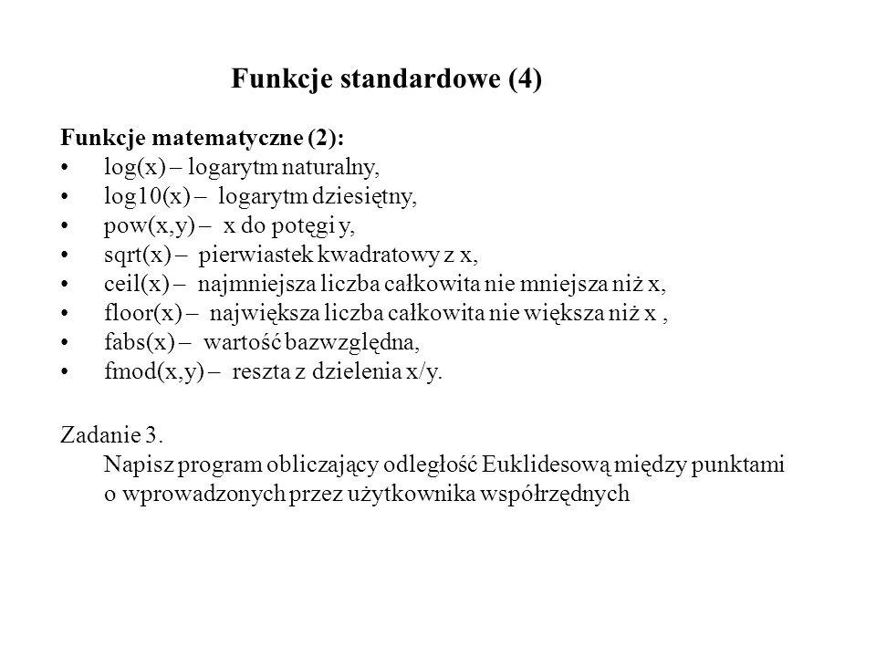 Przykład: main () { listelement listmember, *listpointer; int data, choice; listpointer = NULL; do { Menu (&choice); switch (choice) { case 1: printf ( Wprowadz liczbe calkowita do kolejki: ); scanf ( %d , &data); listpointer = AddItem (listpointer, data); break; case 2: if (listpointer == NULL) printf ( Kolejka jest pusta.\n ); else listpointer = RemoveItem (listpointer); break; case 3: PrintQueue (listpointer); break; case 4: break; default: printf ( Wskazano niewlasciwa pozycje menu\n ); break; } } while (choice != 4); ClearQueue (listpointer); } Zarządzanie pamięcią (6)