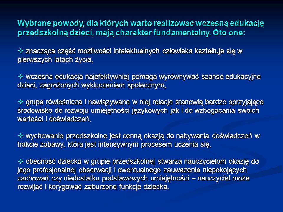 Może warto zatem zamiast rzucać się na głęboką wodę z reformą szkolnictwa zabrać się za budowę nowych dobrze wyposażonych przedszkoli, które będą dostępne dla wszystkich maluchów w Polsce i staną się bazą do kształcenia w późniejszym czasie zdolnej młodzieży.