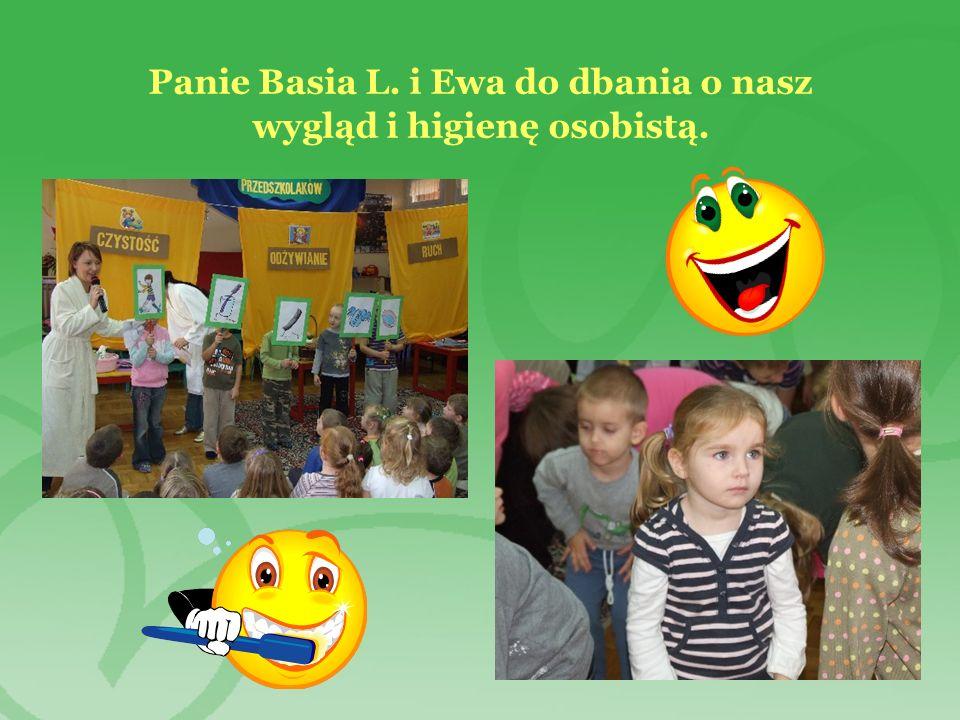 Panie Basia L. i Ewa do dbania o nasz wygląd i higienę osobistą.