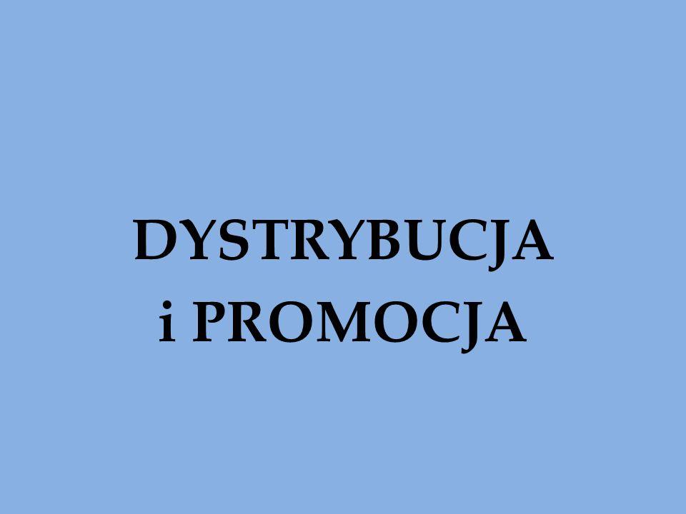 DYSTRYBUCJA i PROMOCJA