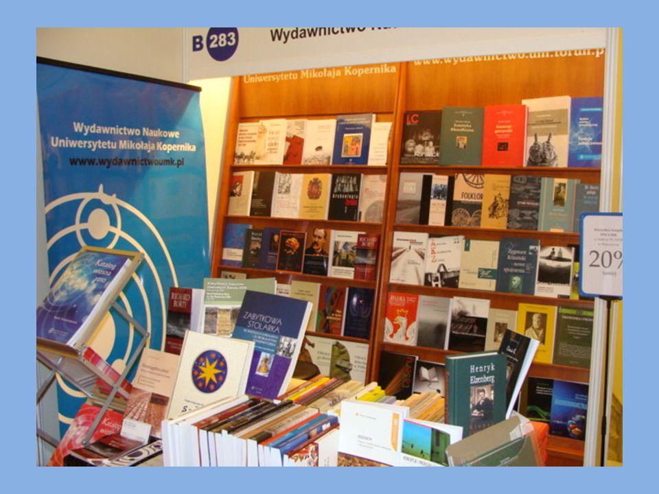 Udział w ogólnopolskich, regionalnych i uniwersyteckich przedsięwzięciach promocyjnych, takich jak np.: Międzynarodowe Targi Książki w Warszawie