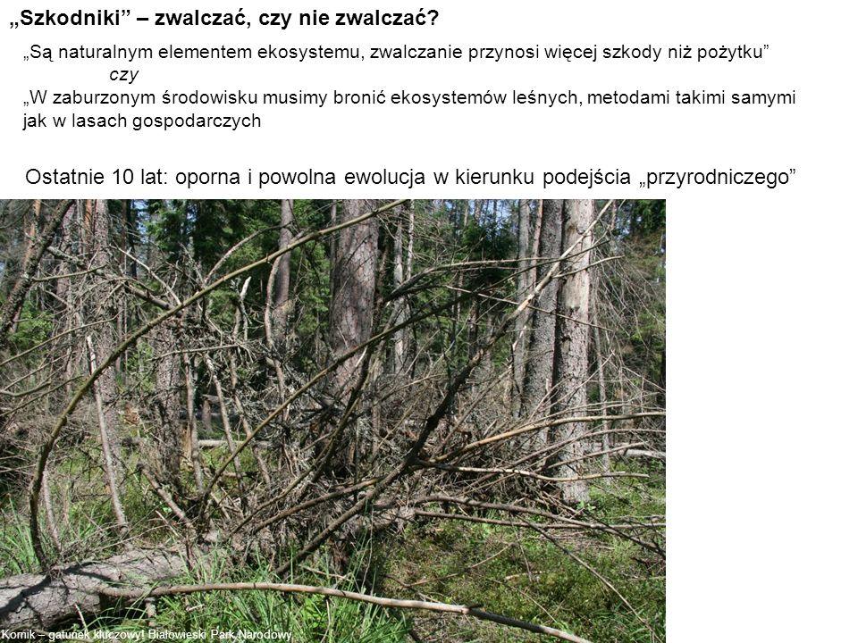 Szkodniki – zwalczać, czy nie zwalczać? Są naturalnym elementem ekosystemu, zwalczanie przynosi więcej szkody niż pożytku czy W zaburzonym środowisku