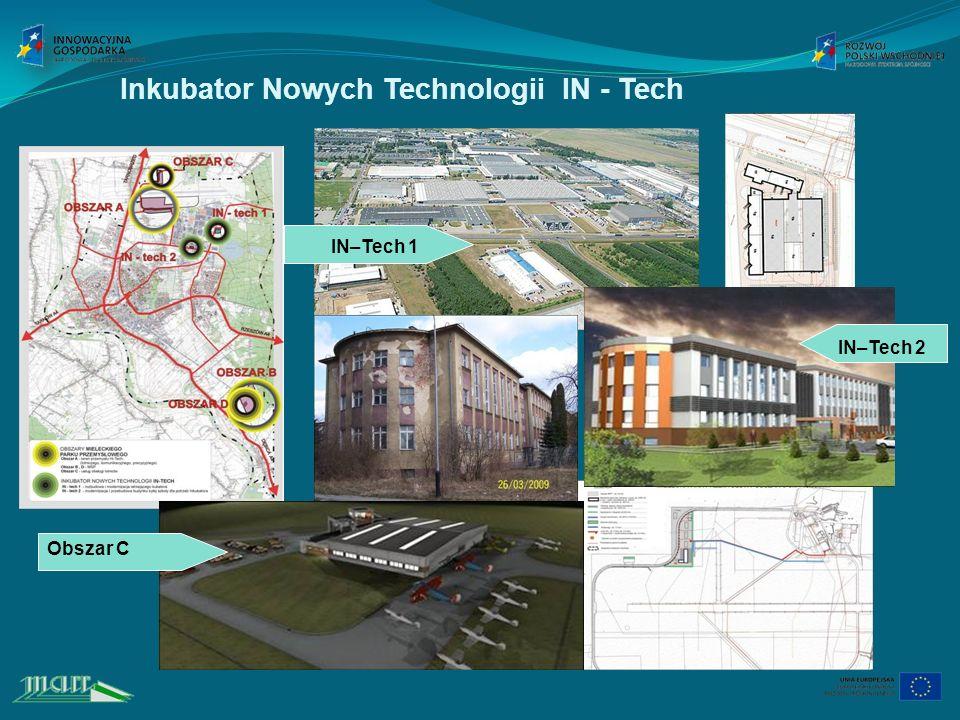 Inkubator Nowych Technologii IN - Tech IN–Tech 1 Obszar C IN–Tech 2