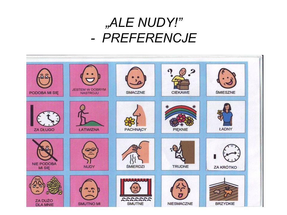 ALE NUDY! - PREFERENCJE