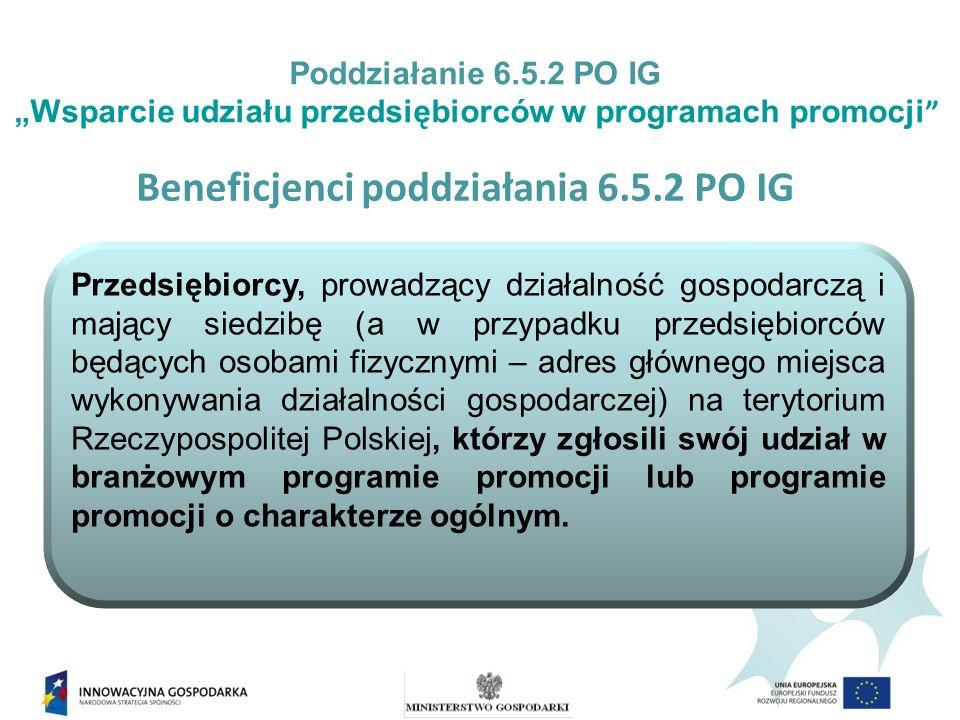 Program promocji o charakterze ogólnym jest to jednorazowa impreza promująca Polskę i polską gospodarkę w kraju i poza granicami Polski.