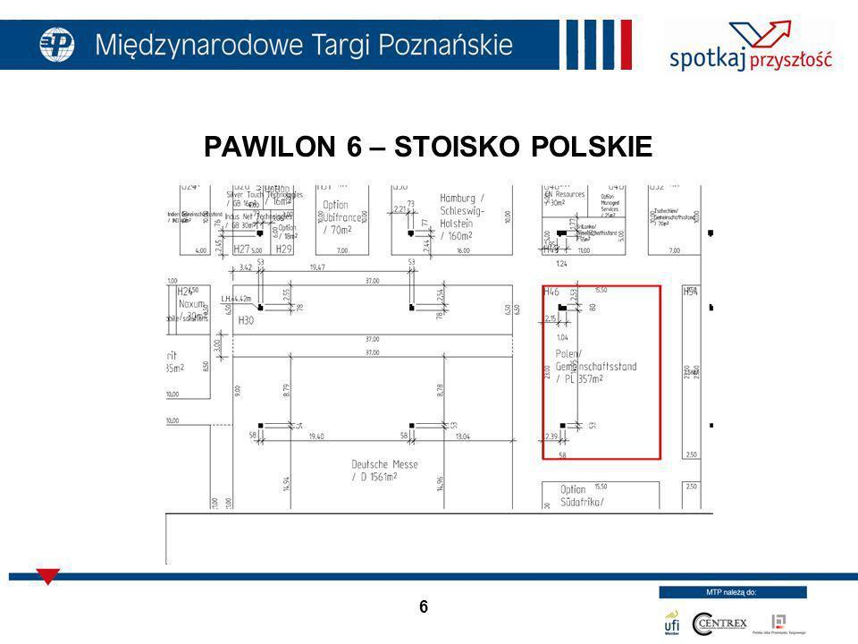 6 PAWILON 6 – STOISKO POLSKIE