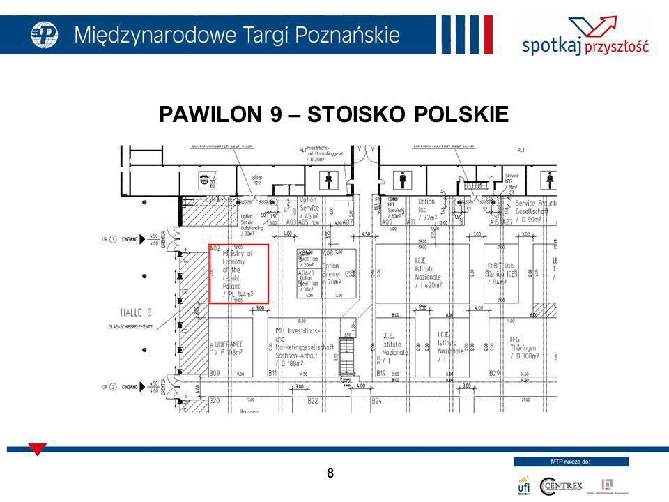 8 PAWILON 9 – STOISKO POLSKIE