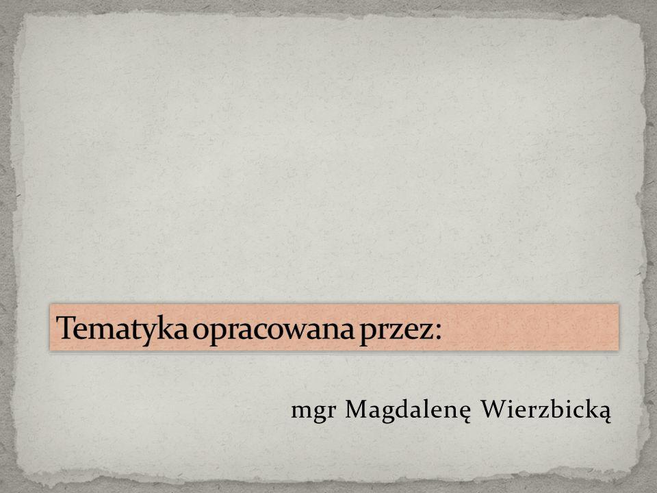 mgr Magdalenę Wierzbicką