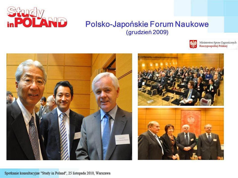 Polsko-Japońskie Forum Naukowe (grudzień 2009)