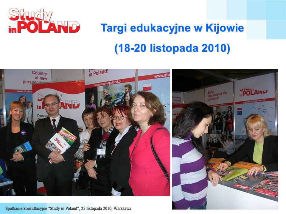 Targi edukacyjne w Kijowie (18-20 listopada 2010)