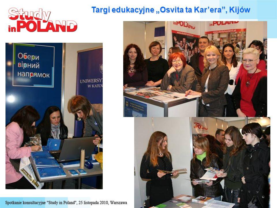 Targi edukacyjne Osvita ta Karera, Kijów