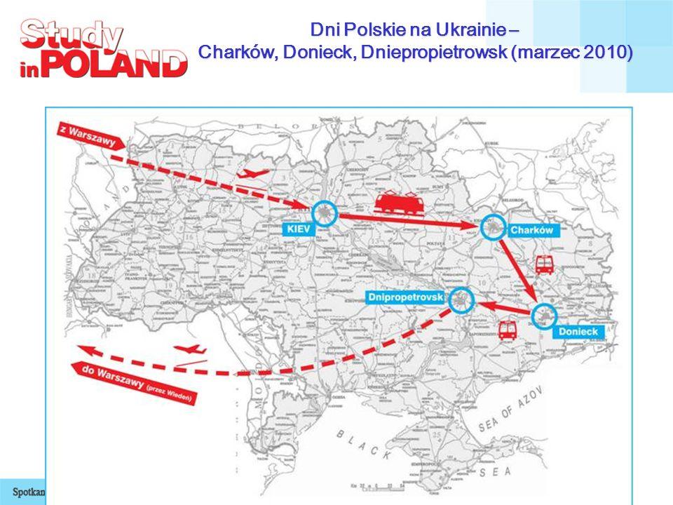 Dni Polskie na Ukrainie – Charków, Donieck, Dniepropietrowsk (marzec 2010)