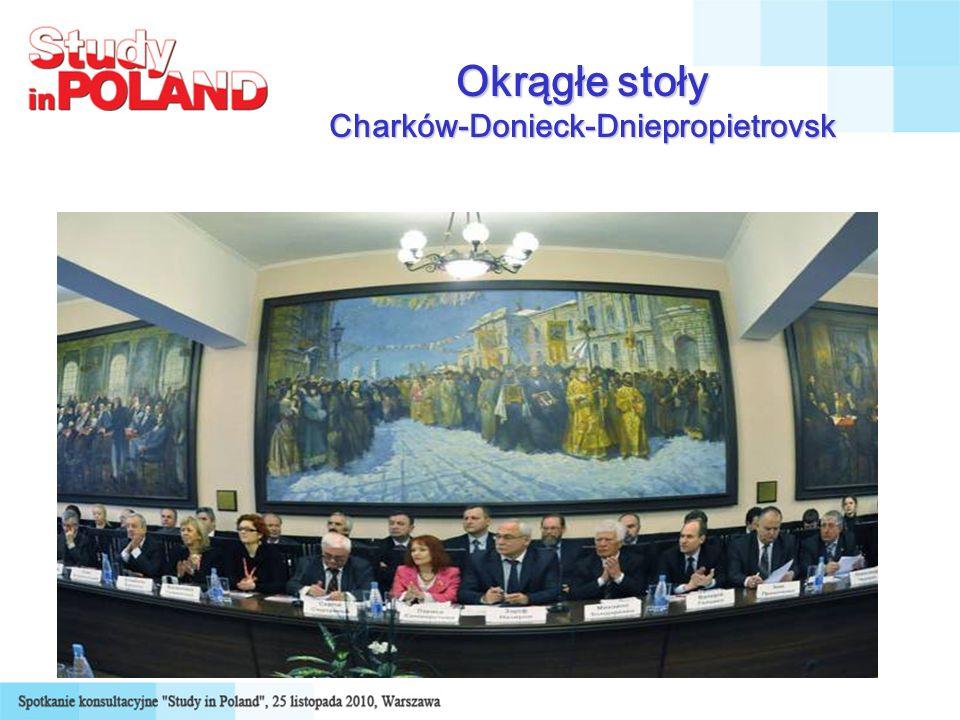 Okrągłe stoły Charków-Donieck-Dniepropietrovsk