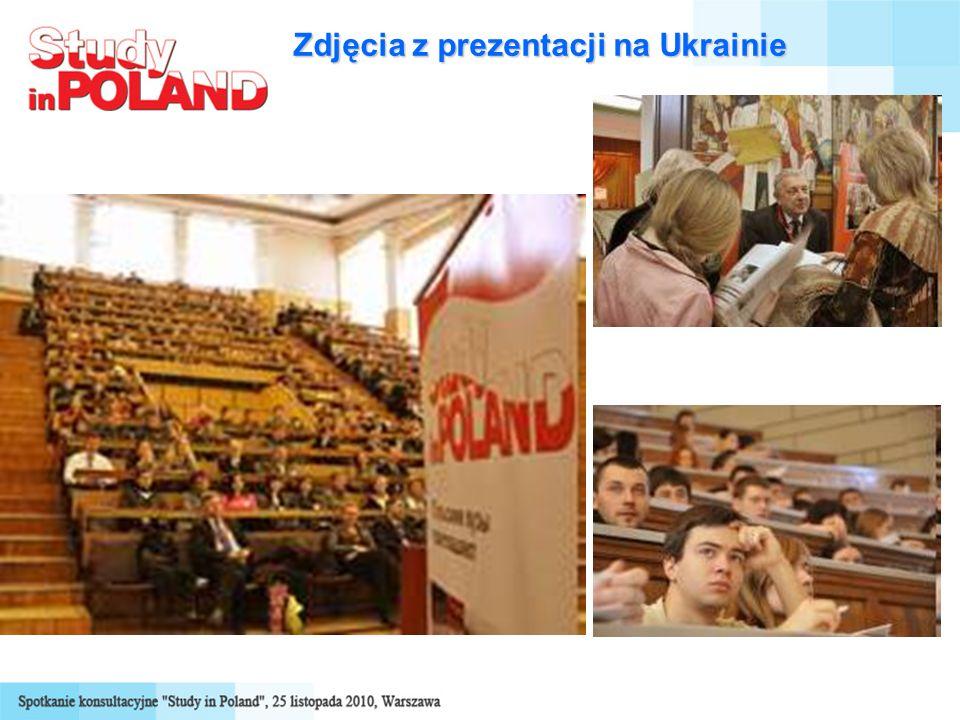 Zdjęcia z prezentacji na Ukrainie