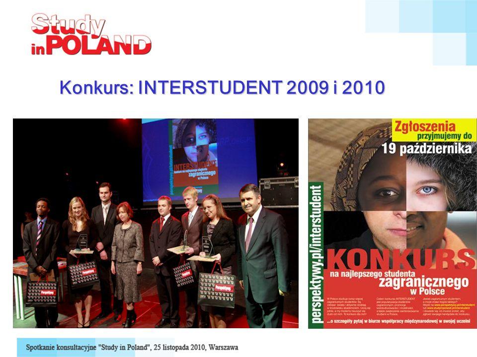 Konkurs: INTERSTUDENT 2009 i 2010
