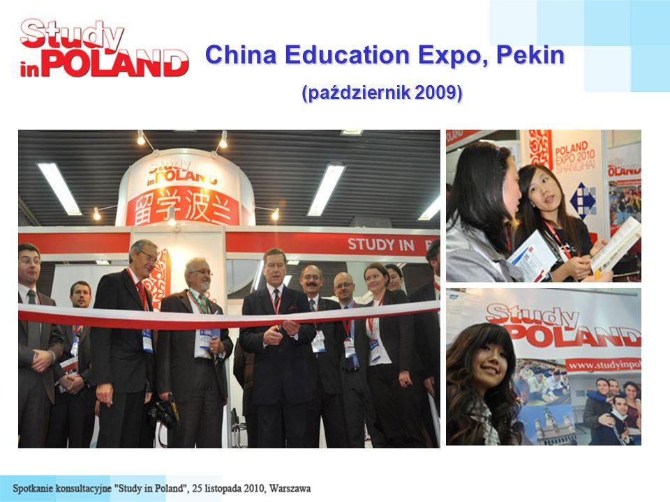 China Education Expo, Pekin (październik 2009) (październik 2009)
