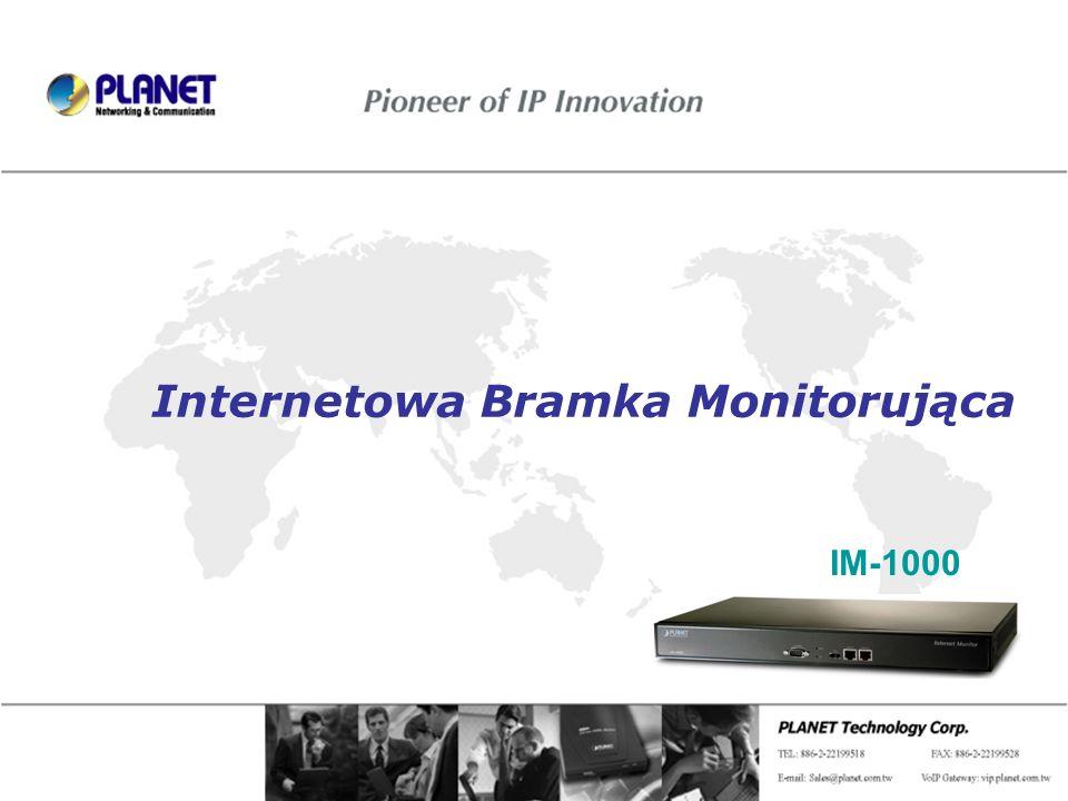 Page 1 / 20 Internetowa Bramka Monitorująca IM-1000
