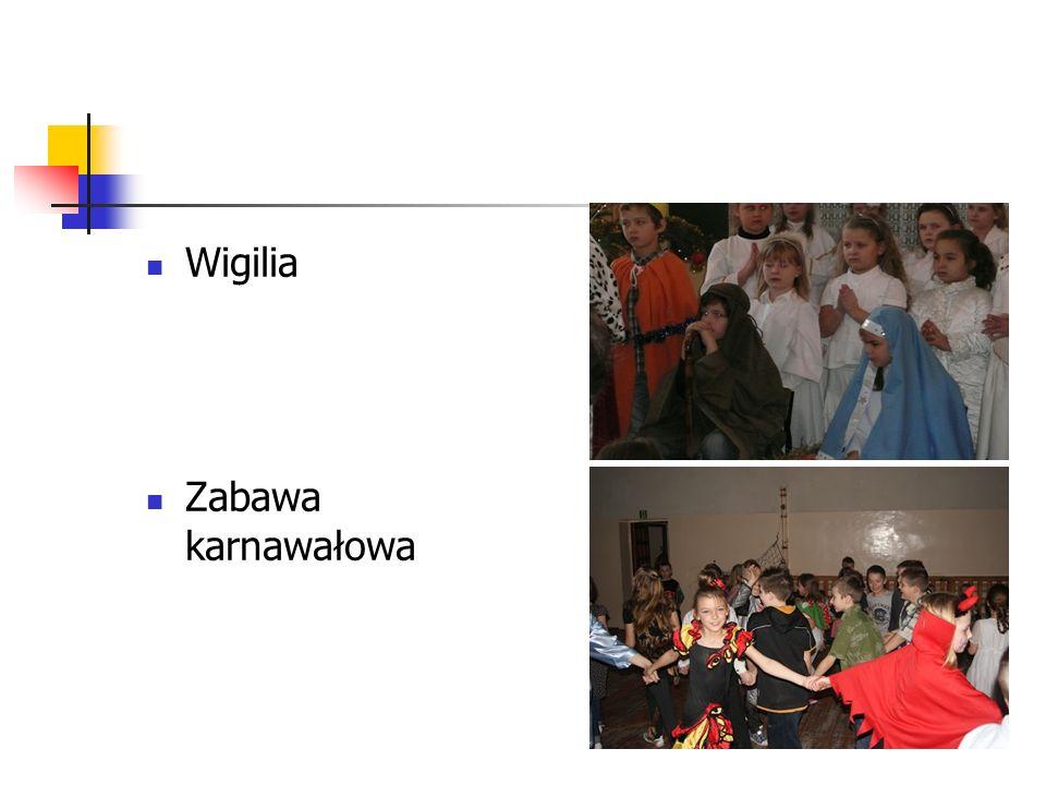 Wigilia Zabawa karnawałowa