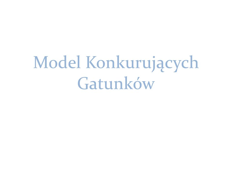 Odmianą modelu jest układ zaproponowany przez V.
