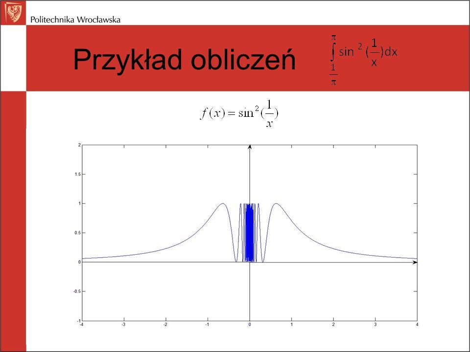Przykład obliczeń