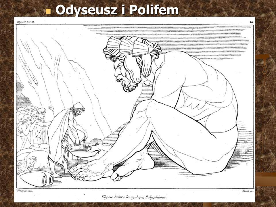 Odyseusz i Polifem Odyseusz i Polifem