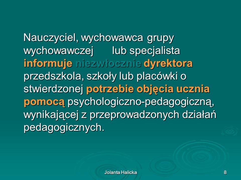Jolanta Halicka29 Dziękuję za uwagę