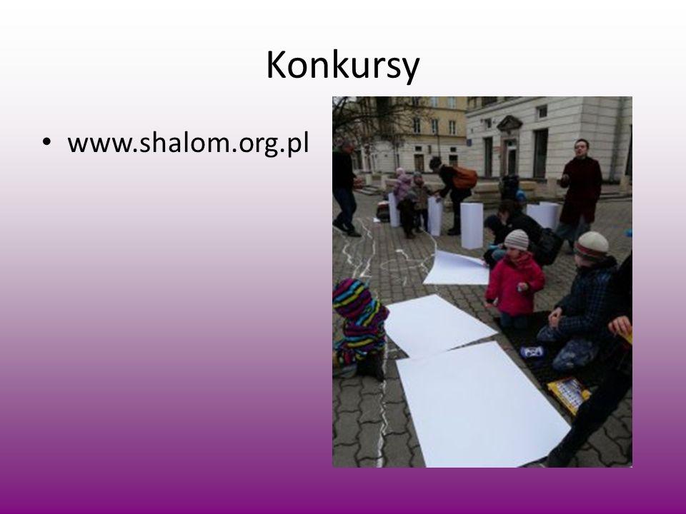 Konkursy www.shalom.org.pl