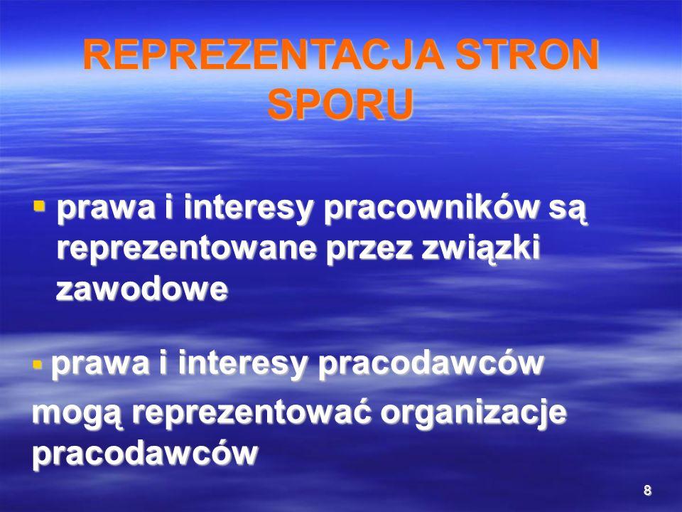 8 prawa i interesy pracowników są reprezentowane przez związki zawodowe prawa i interesy pracowników są reprezentowane przez związki zawodowe prawa i