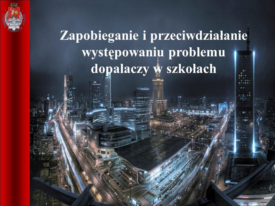 1 Zapobieganie i przeciwdziałanie występowania problemu dopalaczy szkołach Warszawa 2011 r. Zapobieganie i przeciwdziałanie występowaniu problemu dopa
