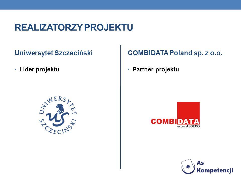 ZADANIA PARTNERÓW W PROJEKCIE Uniwersytet Szczeciński tworzy we współpracy z uczelniami wyższymi z województw objętych projektem Szkolny Ruch Naukowy, w ten sposób realizowana będzie akademicka część projektu, obejmująca prowadzenie zajęć z uczniami na Uniwersytecie Szczecińskim i uczelniach współpracujących w ramach projektu, a także prowadzenie wykładów w szkołach objętych projektem.