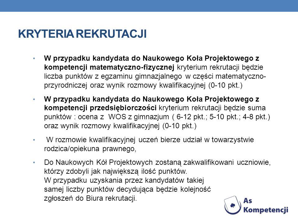 INFORMACJE O PROJEKCIE www.askompetencji.eduportal.pl numer infolinii : 0 801 -30-30 -30