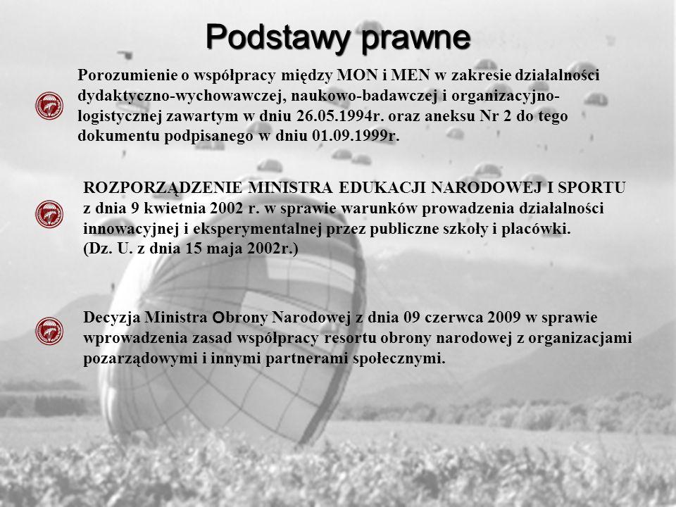 6 BRYGADA POWIETRZNODESANTOWA Założenia innowacji * W dobie profesjonalizacji, kiedy polskie wojsko potrzebuje żołnierzy znakomicie wykształconych, doskonale przygotowanych do służby oraz posiadających zdolności obsługiwania nowoczesnego sprzętu wojskowego młodzież szkolna z klas mundurowych daje nadzieje na sprostanie potrzebom nowoczesnej armii.