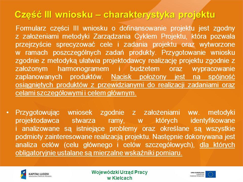 Schemat przygotowania wniosku o dofinansowanie 1.Uzasadnienie potrzeby realizacji projektu 2.