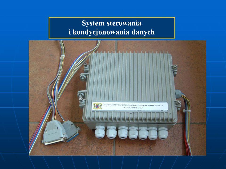 System sterowania i kondycjonowania danych