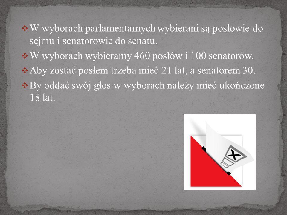 kandydat do Sejmu nie może startować w wyborach do Senatu jeżeli startuje z listy partii X, to nie może już startować z listy partii Y jeśli startuje w wyborach w Łodzi, to nie może znaleźć się na liście kandydatów w Rzeszowie