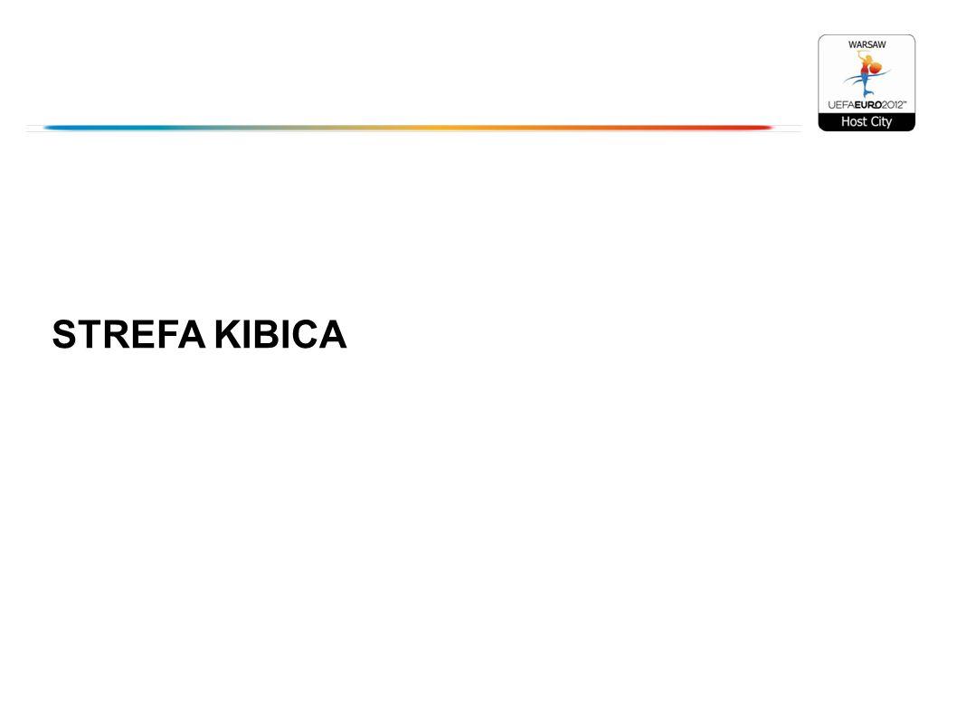 Imprezy i wydarzenia na terenie Strefy Kibica Strefę Kibica promujemy od listopada 2011 roku Losowanie Grup Finałowych w Mini Strefie Kibica pod Pałacem Kultury 4 tys.